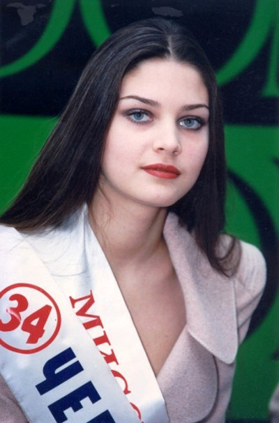 Александра ПЕТРОВА. Мисс Россия 1996