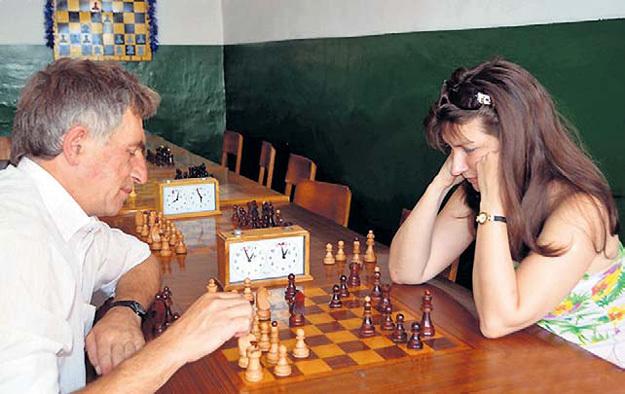 шахматы знакомство с доской