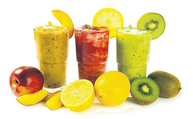 Овощные и фруктовые смузи - вкусный залог здоровья