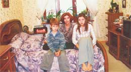 АНТОН, АНТОНИНА И МАРИША: в классическом интерьере