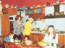 ПРИГОТОВЛЕНИЕ К ТРАПЕЗЕ: на кухне не хватает только главы семейства