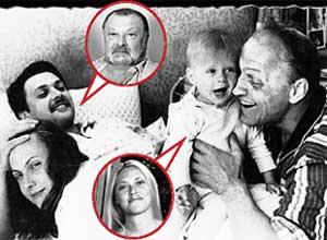 ДРУЖНАЯ СЕМЬЯ: (слева направо) Инна Кмит, Борис Быстров, Катя Кмит и глава семьи Леонид Кмит