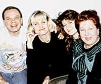 ИННА УЛЬЯНОВА (справа): в компании с Виктором Моматюком