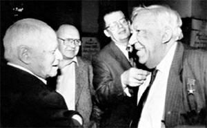 СТАРЫЕ ДРУЗЬЯ: последняя встреча Костюковского с Никулиным