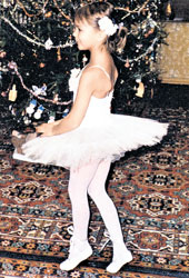 КСЮША В БАЛЕТНОМ УЧИЛИЩЕ: на сцене Большого театра танцевала `маленького лебедя`