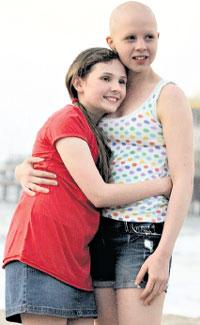 ...СОФИЯ И ЭБИГЕЙЛ: ради высоких целей женщина готова поступиться даже своей красотой (на съёмках «My Sister's Keeper»)