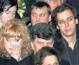 Алла ПУГАЧЕВА и Максим ГАЛКИН не скрывали слёз