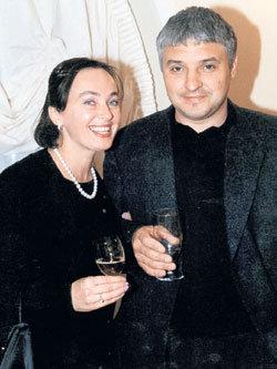 С мужем Игорем БУХАРОВЫМ