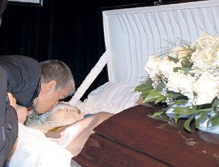После кончины любимой жены Михаил долго болел