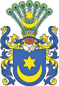Фамильный герб династии ТЫШКЕВИЧЕЙ
