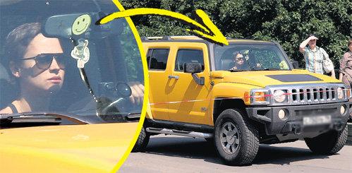 Дорогому Настиному авто позавидовала бы сама Золотая ручка