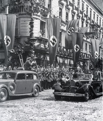 Адольф ГИТЛЕР хотел подчинить фашистской Германии весь континент...