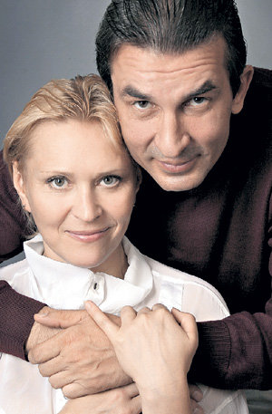 Анна с мужем Александром АНДРИЕНКО