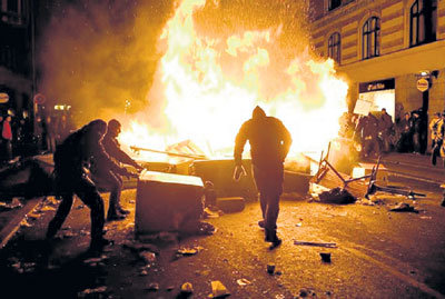 Во Франции дети «протестированных» арабов устраивают погромы