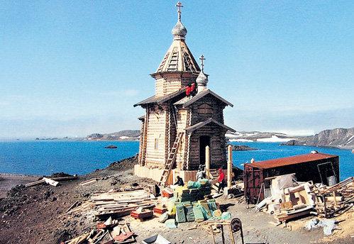 Церковь в Антарктиде