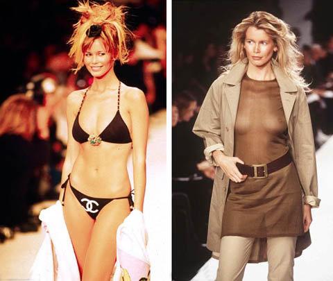Свою модельную карьеру Клаудиа начала 21 год назад. Фото: skyshowbiz.com