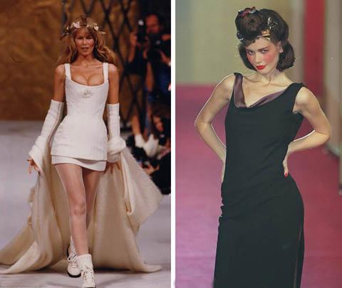 Клаудиа до сих пор хранит многие из своих нарядов, которые модельеры дарили ей после показов. Фото: skyshowbiz.com