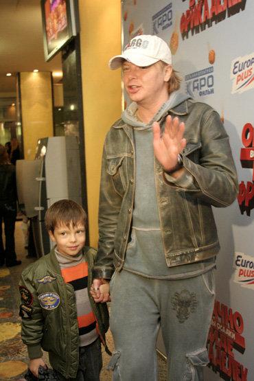 Андрей ГРИГОРЬЕВ-АПОЛЛОНОВ с сыном