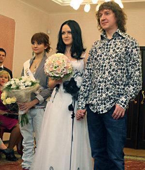Фото свадьбы знаменит