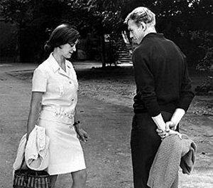 На съёмках фильма Секундомер (1971)