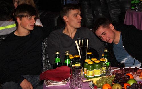 Андрей АРШАВИН, Игорь ДЕНИСОВ, Владимир БЫСТРОВ
