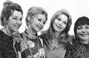 Сестры Влади: Ольга, Марина, Татьяна, Мелица