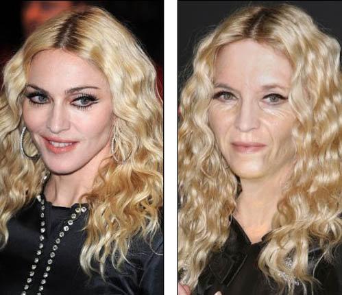 Мадонна через 10 лет