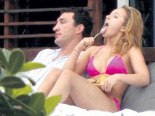 Владимир и Хайден провели вместе ночь в отеле Майами