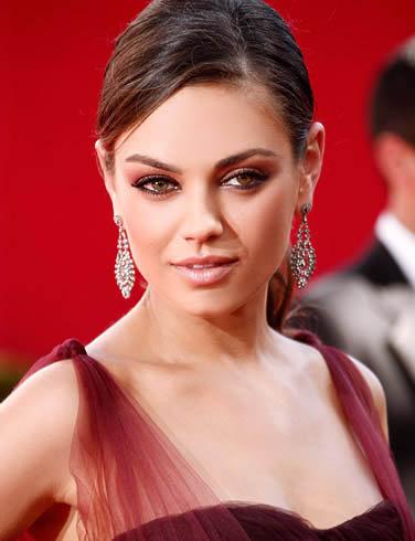 32 место: актриса, рожденная в СССР - голливудская звезда украинского происхождения Мила Кунис.