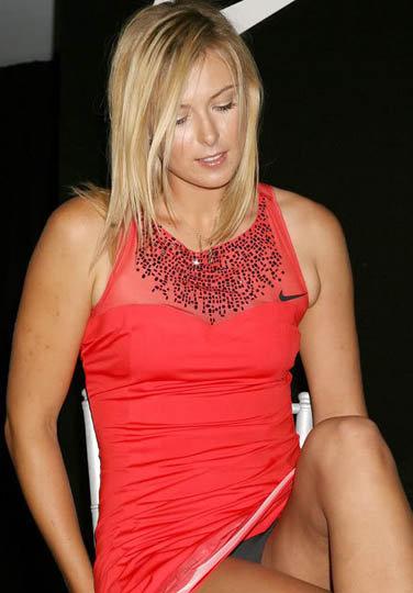 65 место: единственная россиянка в списке, теннисистка Мария Шарапова.