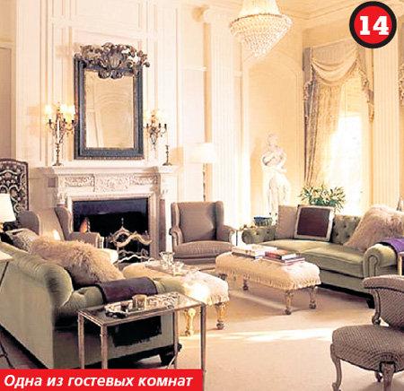 Изысканный и красивый дизайн интерьера комнаты в стиле Классика.