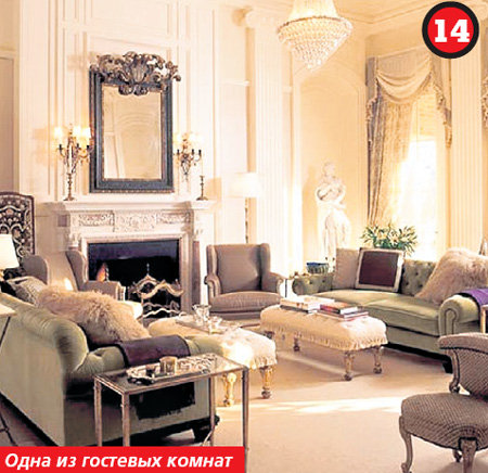 Дизайн интерьера комнаты в стиле Классика фото.