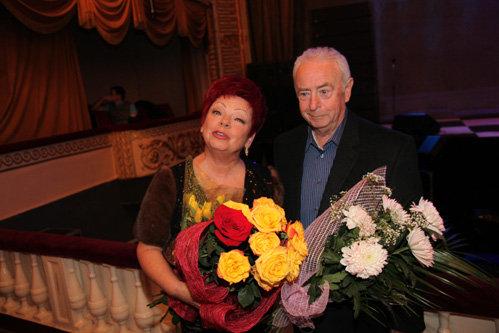 Людмила Ивановна ПОРЫВАЙ с мужем Игорем
