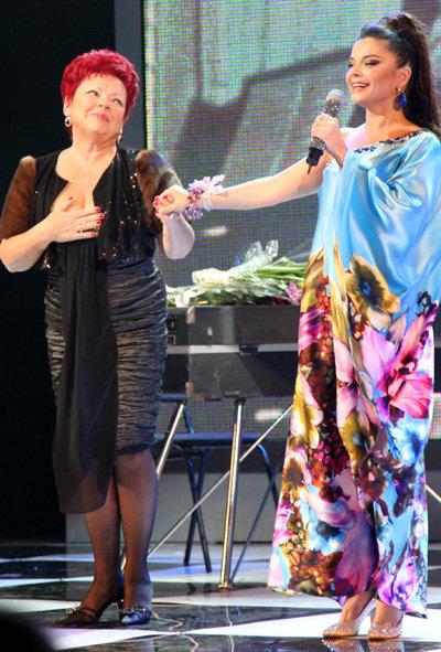 Наташа КОРОЛЁВА с мамой