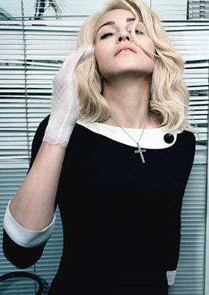 Такой Мадонна предстала перед читателями журнала W