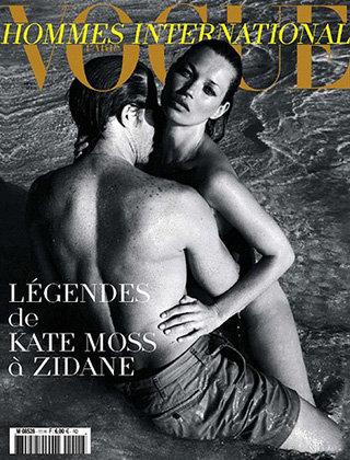 Кейт Мосс на обложке Vogue