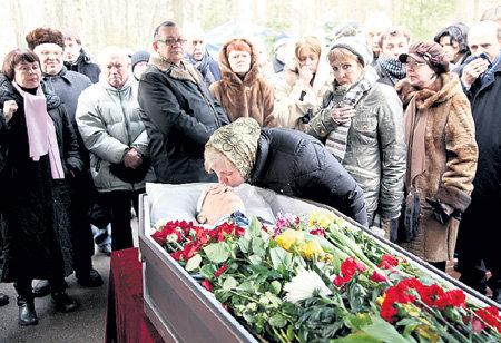 сорин похороны фото видео российских известных личностей