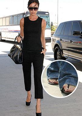 За свои изуродованные пальцы Виктория получила звание знаменитости с самыми страшными ногами. Фото Sun