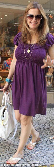 47-летняя Келли Престон просто светится от счастья. Фото: Daily Mail