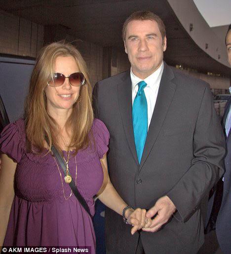Келли Престон и Джон Траволта отдыхают в Бразилии. Фото: Daily Mail