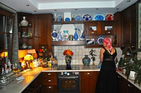 Кухня актрисы