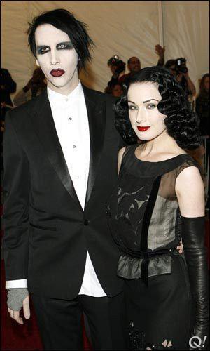 Мэнсон и фон Тиз выглядели идеальной парой