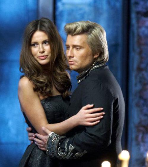 Николай БАСКОВ с моделью Марией.