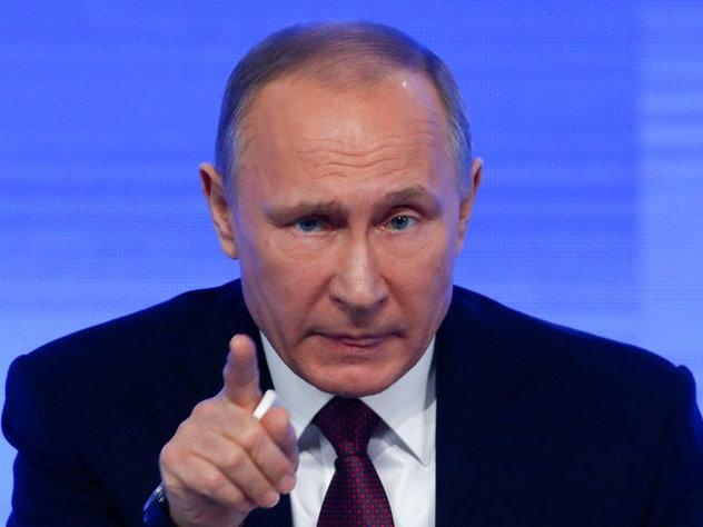 Золотой iPhone 7 обещан создателю лучшего вопроса Владимиру Путину