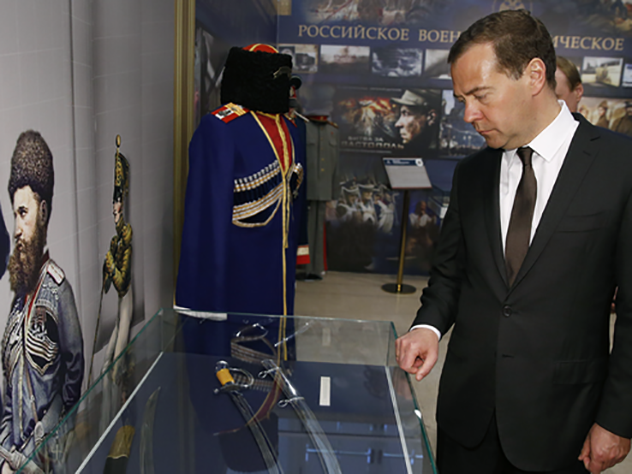 Экспозиция «Спасенные реликвии. Два века славы» открывается вмузее Военной формы одежды