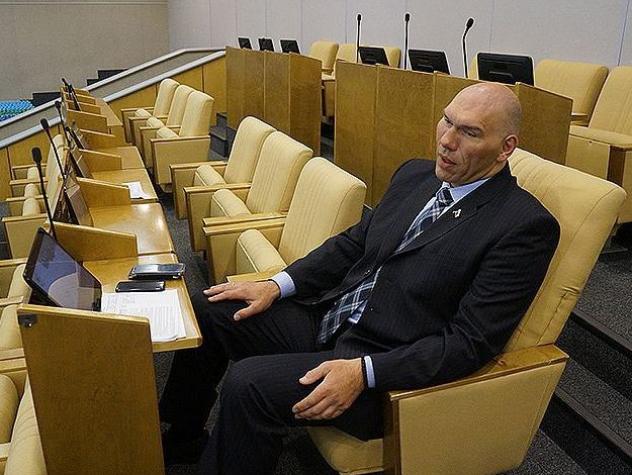 спортсменов-депутатов принес пользы госдуме