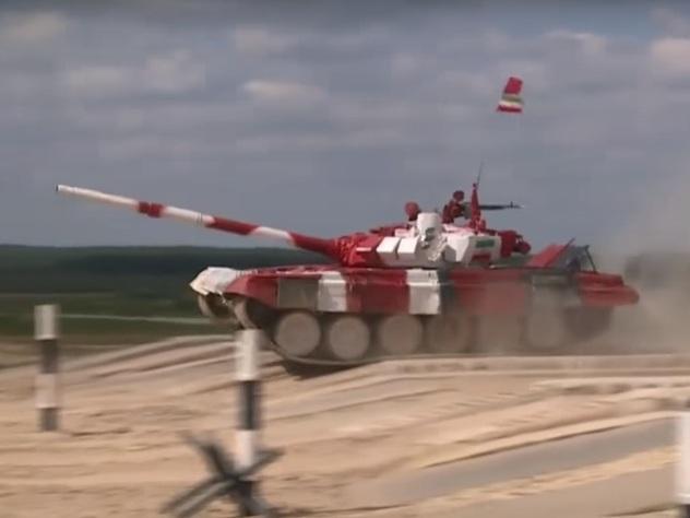 В Подмосковье определились финалисты чемпионата по танковому биатлону