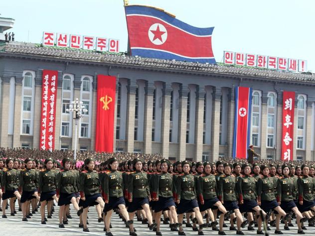 3,5 миллиона северокорейцев «умолили» взять их добровольцами на войну с США