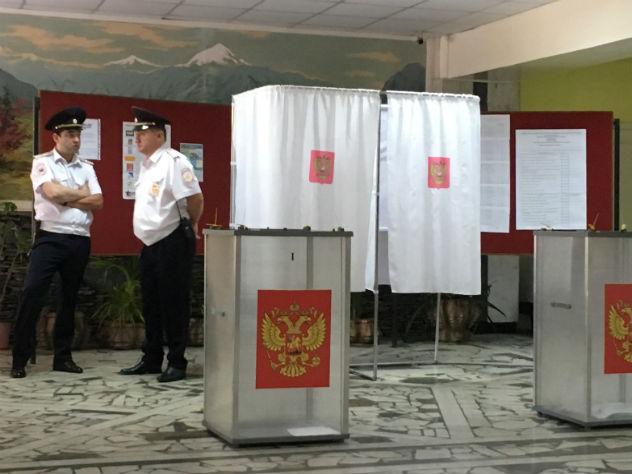У члена избирательной комиссии изъяли листовки с призывом не ходить на выборы