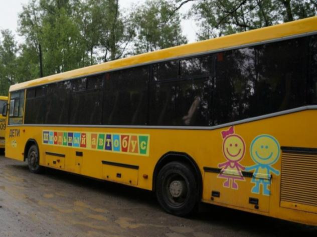 Четыре автобуса с детьми столкнулись в Ростове-на-Дону